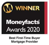 We were named best first time buyer mortgage provider in the UK in the 2020 Moneyfacts Awards
