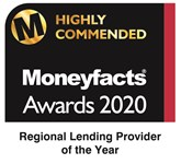 Highly Commended for the UK Regional Lending Provider of the Year Award at the 2020 Moneyfacts Awards